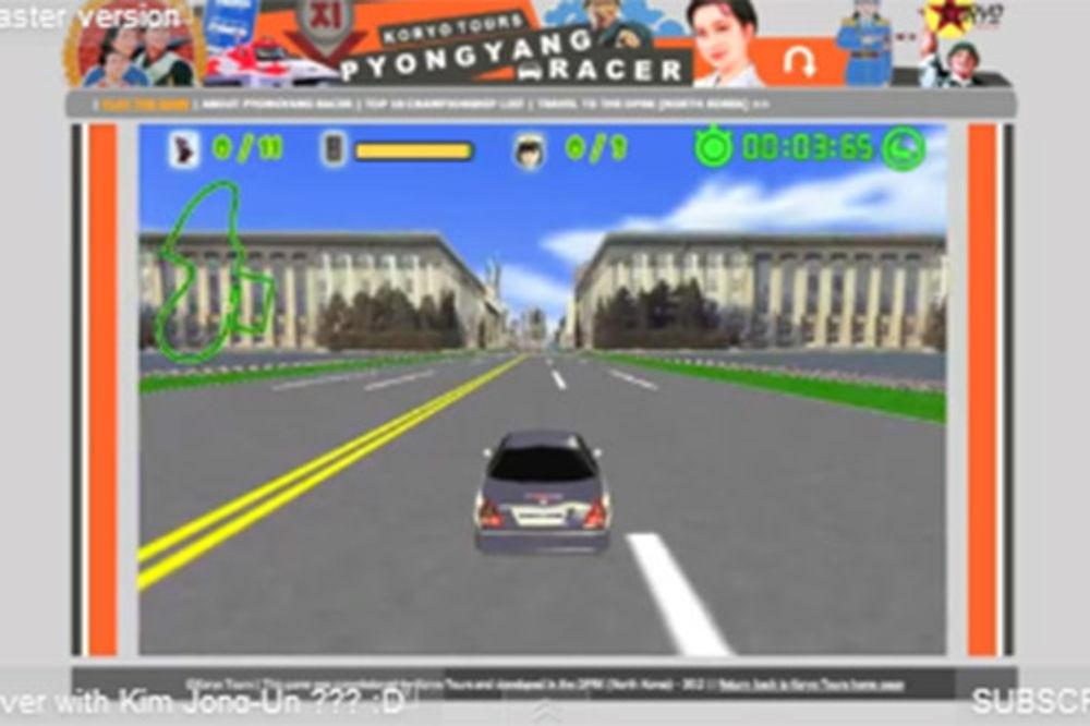 Pyongyang Racer, igirica, promocija, Severna Koreja