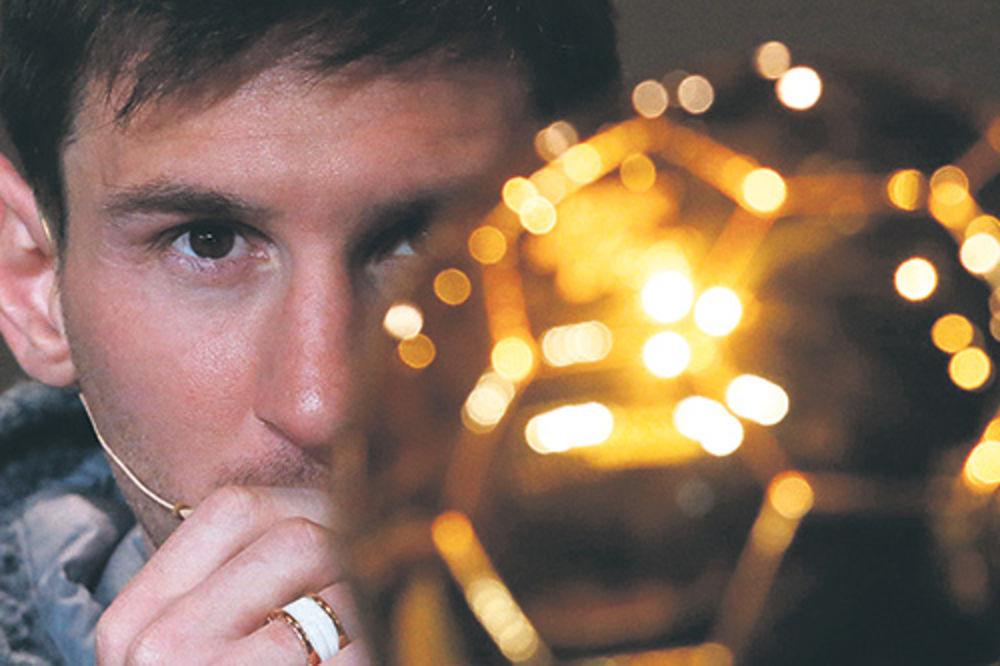 Leo Mesi, Zlatna lopta, priznanja, trofeji