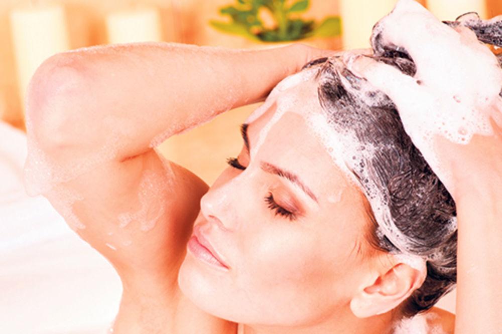10 saveta za pravilno pranje kose