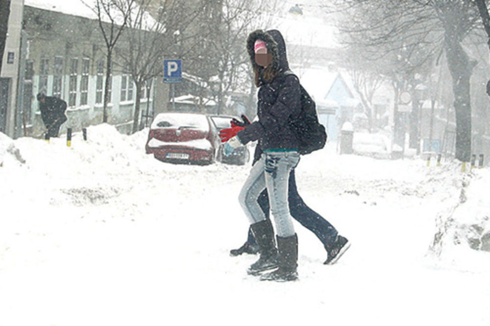 sneg, pada sneg, hladnije vreme