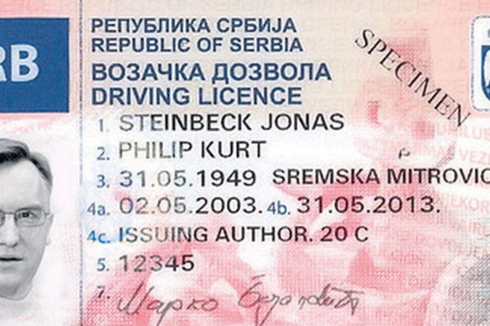 vozacka-dozvola, nova vozačka dozvola