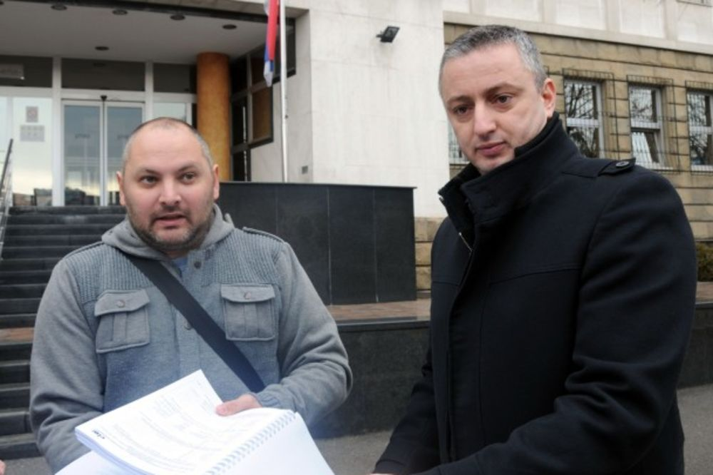 Darko Trifunović i Domagoj Margetić