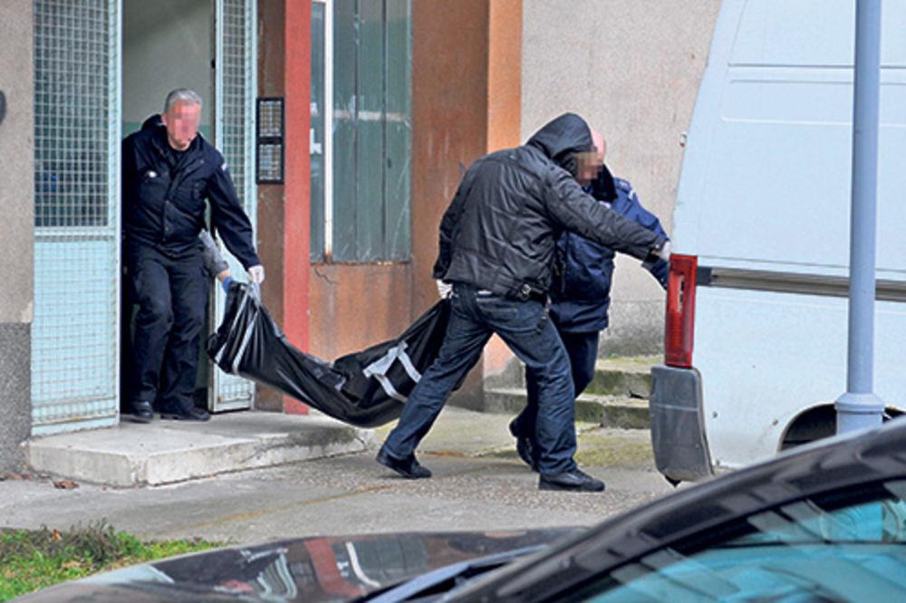 Policija iznosi leš ubijene devojke