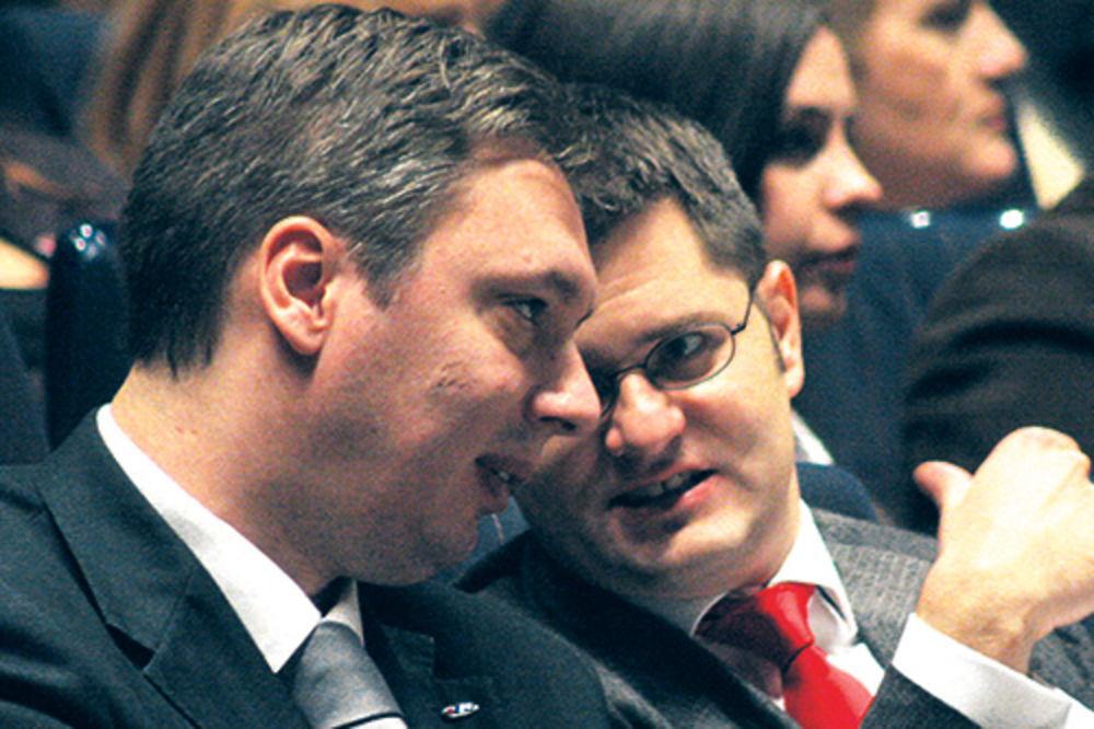 Vuk Jeremić,Aleksandar Vučić,