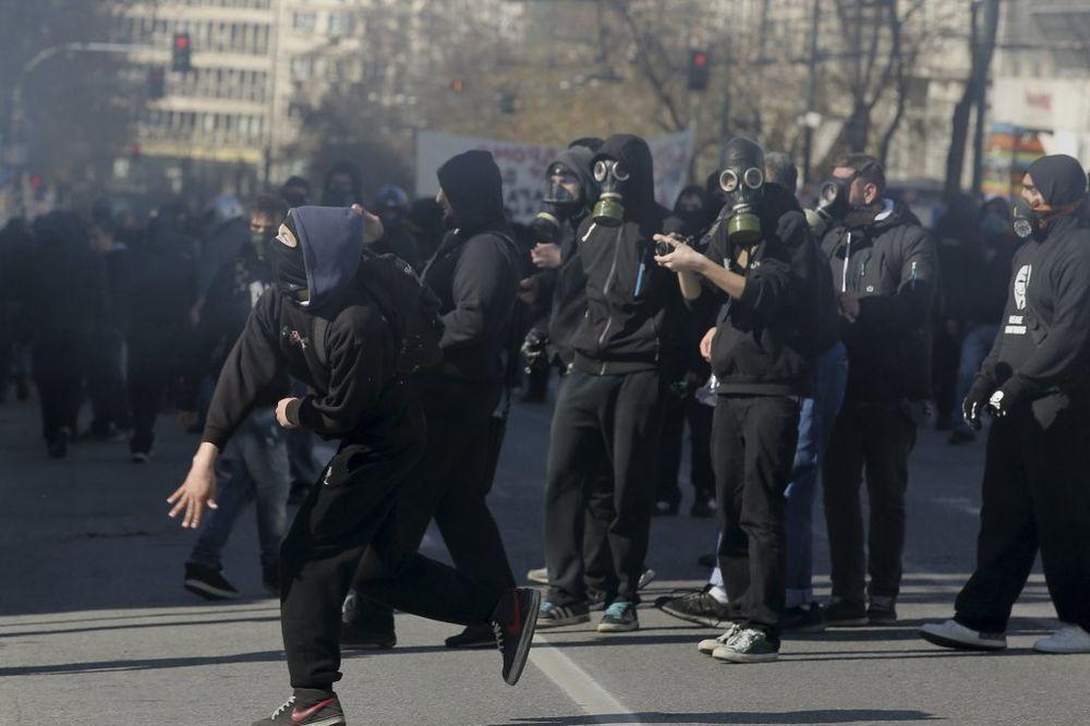 atina, grčka, protest, rojters