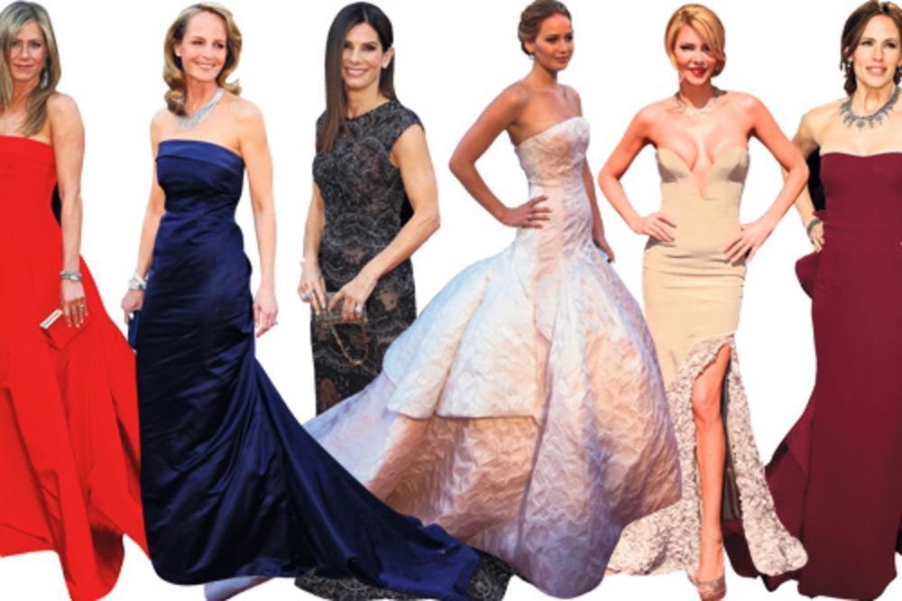 Oskar, dodela Oskara, haljine, Natali Portman, Adel, Dženifer Aniston