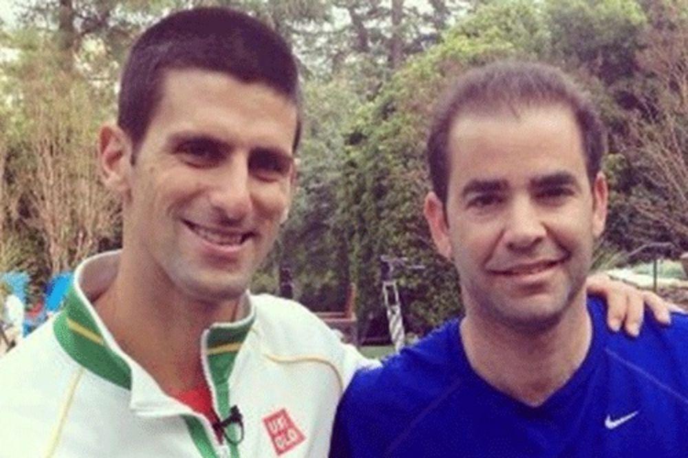 SAMPRAS ODUŠEVLJEN SRBINOM: Novak je zver na terenu!