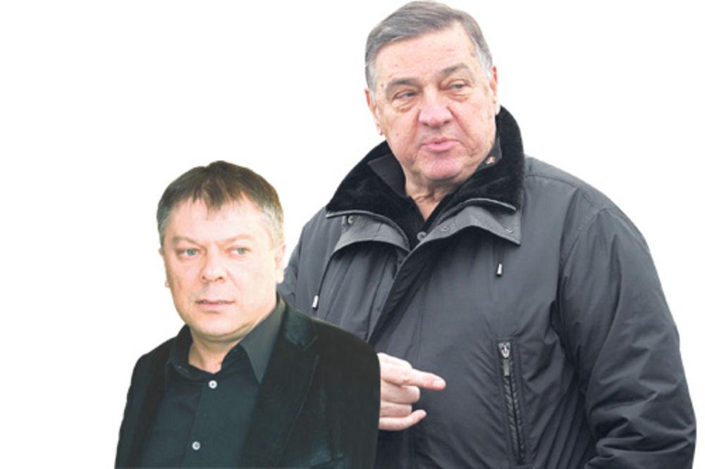 Novica Tončev, Milutin Mrkonjić, rekonstrukcija Vlade