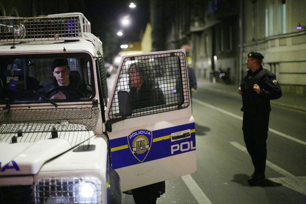 GUŽVA U ZAGREBU: Pohapšeni učesnici proustaškog skupa