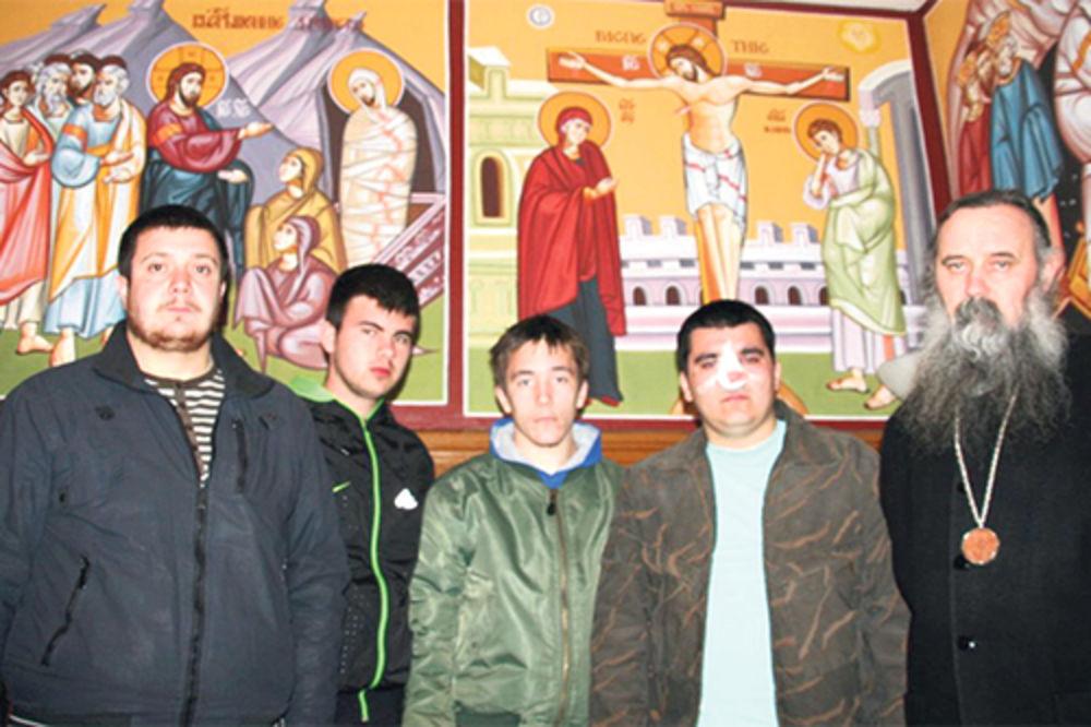 manastir Krka,  bogoslovi, napad, učenici, Hrvatska