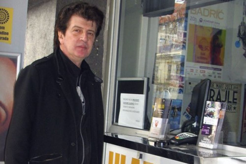 Bajaga prodavao karte za svoj koncert