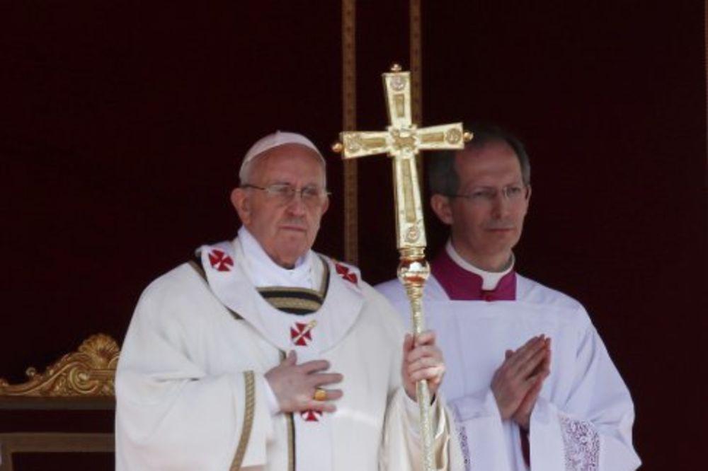 papa Franjo, ustoličenje, rojters