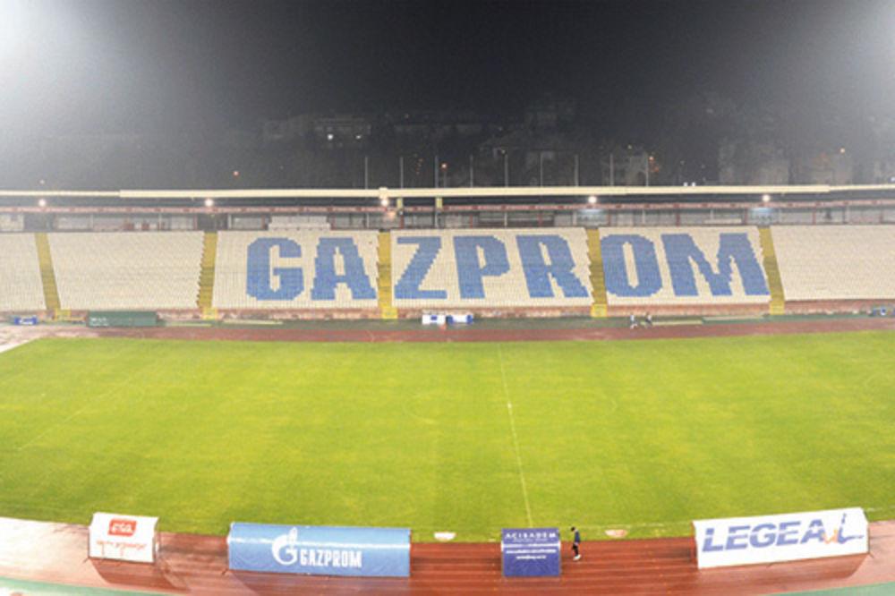 NIŠTA OD RUSA: Gasprom demantovao da kupuje Crvenu zvezdu