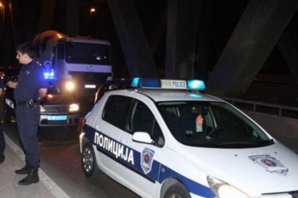 pančevački most, skok, policija