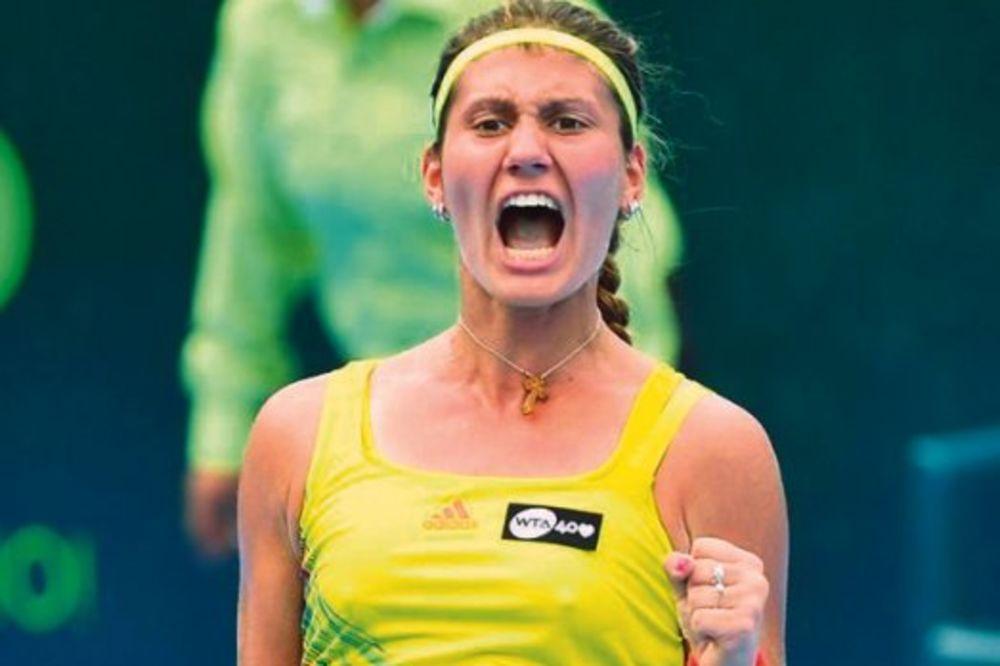 Jovana Jakšić, Ana Ivanović, tenis