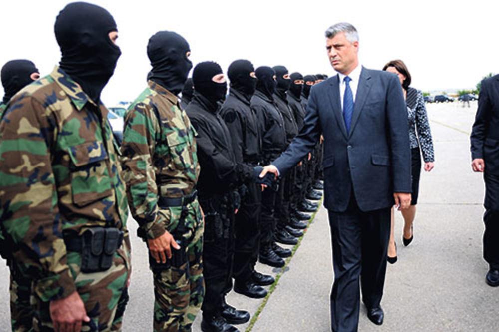 hasim taci,  kosovo, srbija, preti ratom,