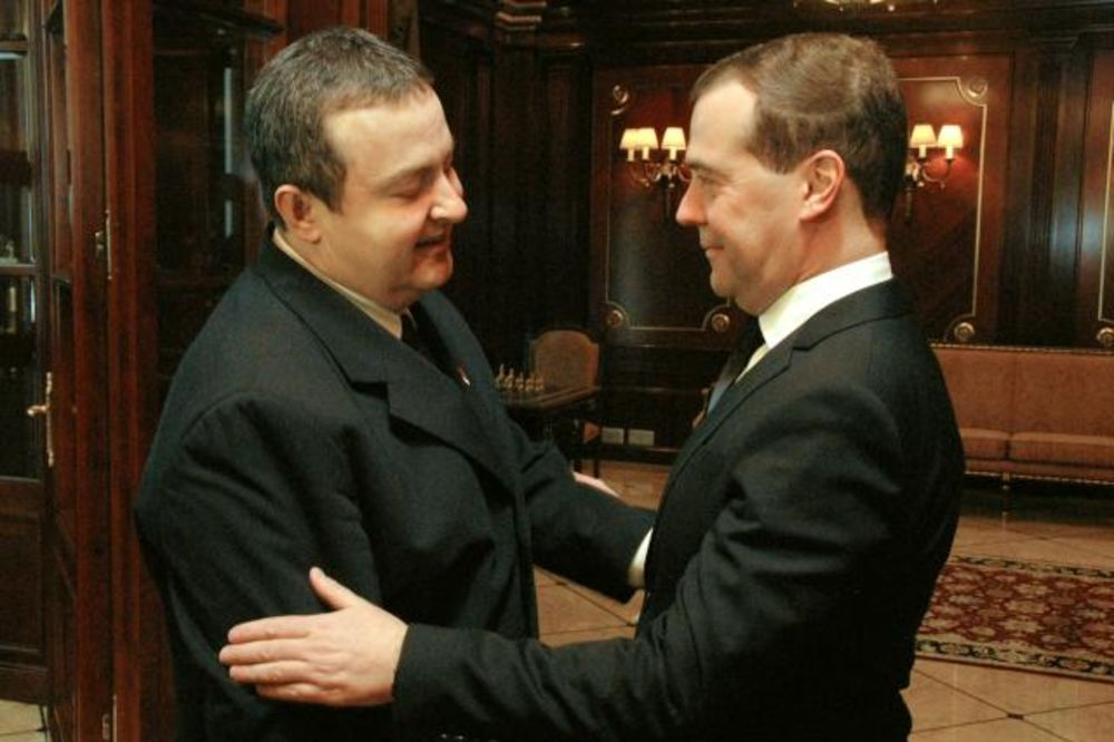 Ivica Dačić, Dmitrij Medvedev, foto tanjug