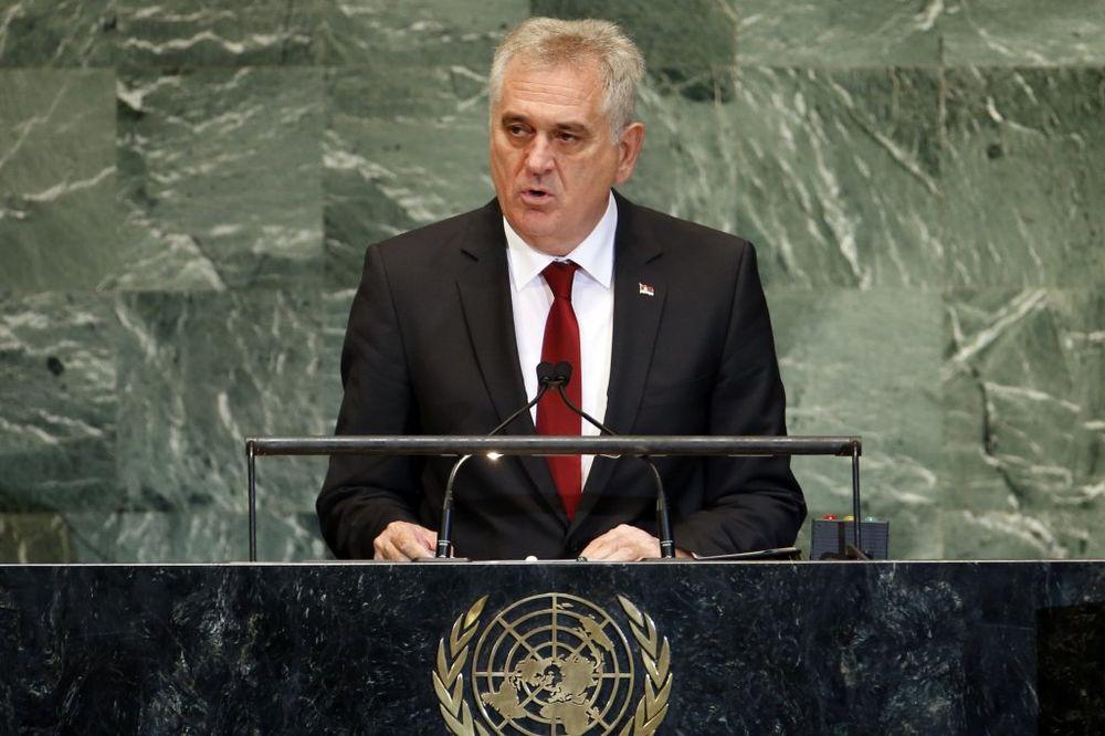Predsednik Nikolić na otvaranju generalne debate