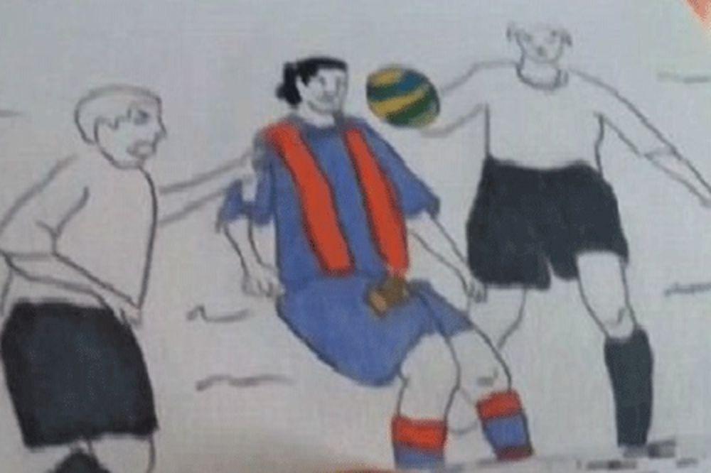 MAGIJA: Ronaldinjo čarobnjak i na papiru!
