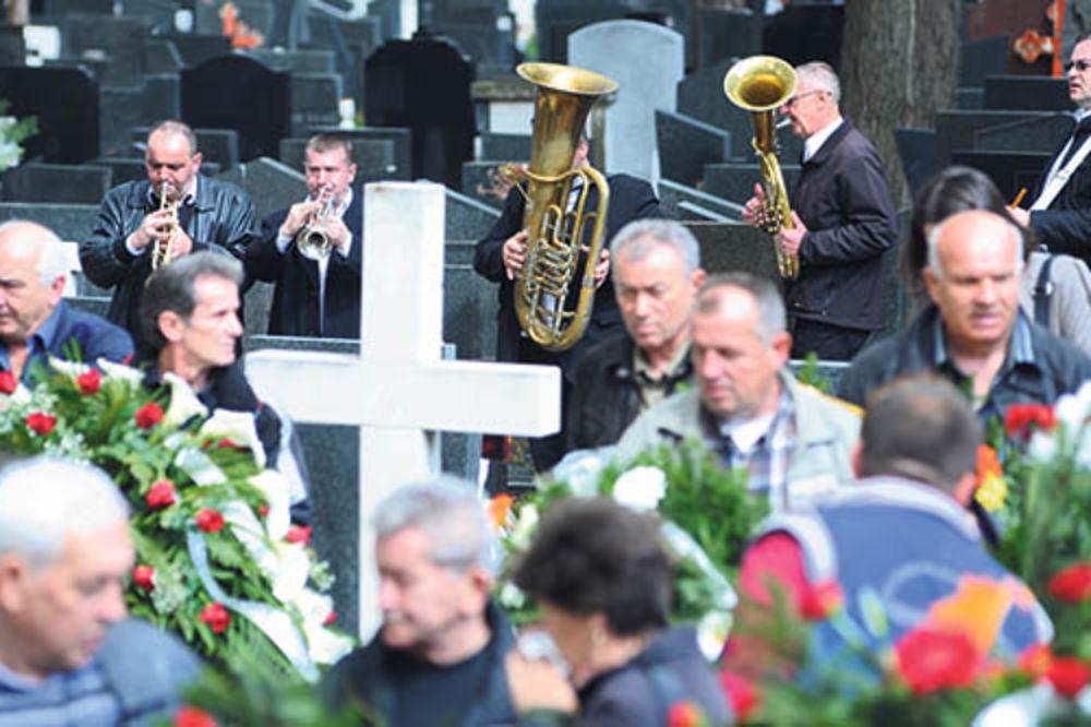 Trubači odsvirali posmrtni marš
