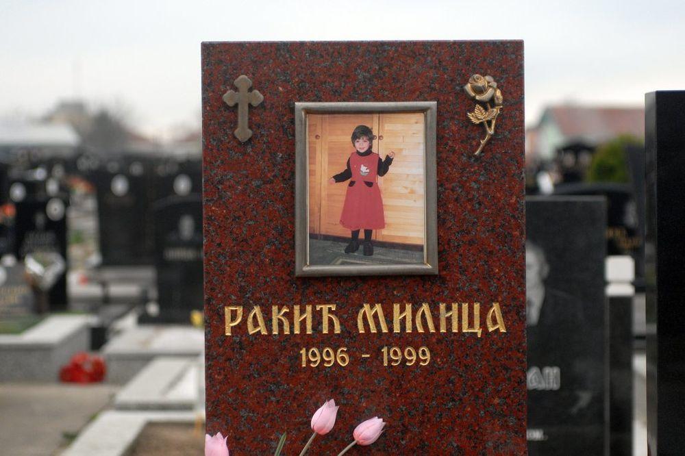 DA SE NE ZABORAVI: Godišnjica pogibije male Milice