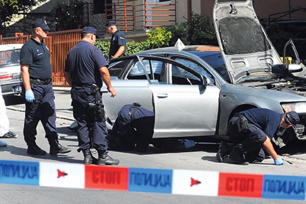 Uviđaj na mestu ubistva Radojice Joksovića
