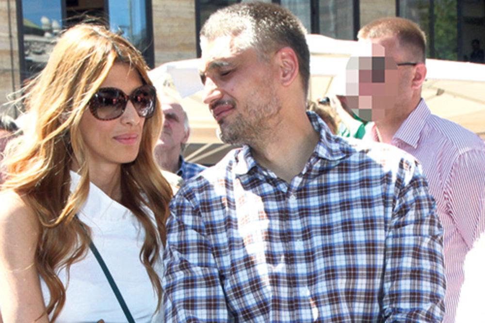 Čeda Jovanović sa suprugom Jelenom