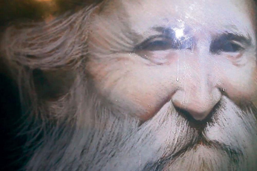 Otac Tadej, ikona koja je proplakala