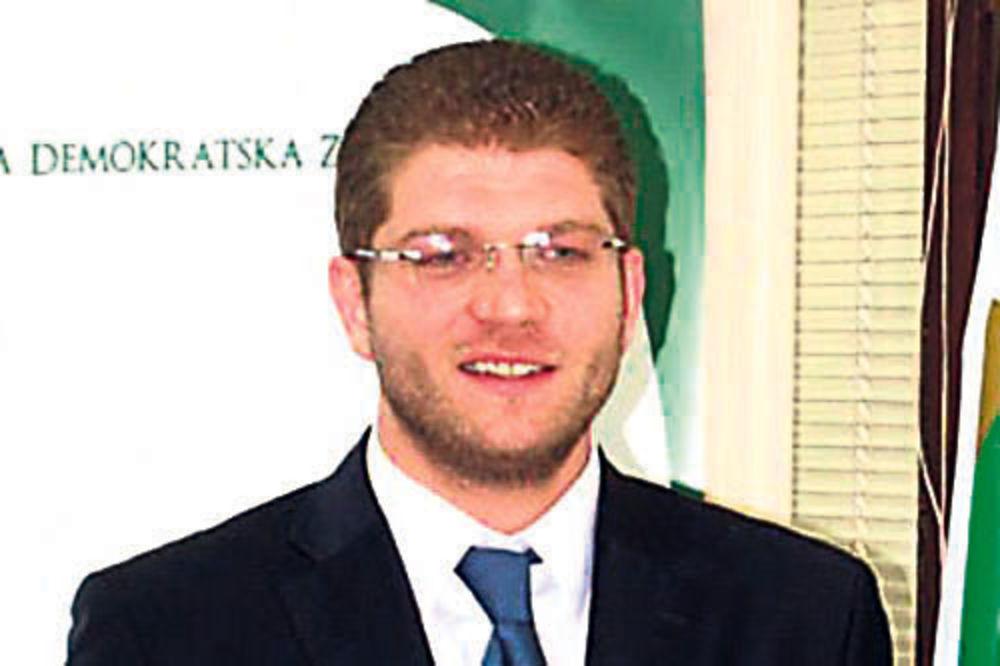 Emir Elfić, lider Bošnjačke demokratske zajednice, BDZ
