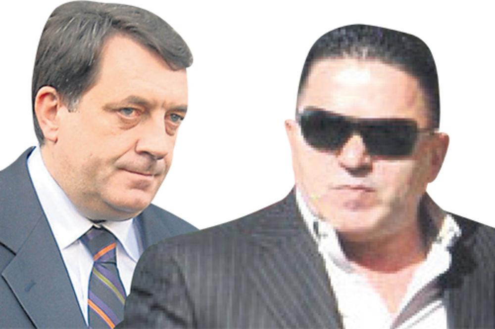 Milorad Dodik, Naser Keljmendi