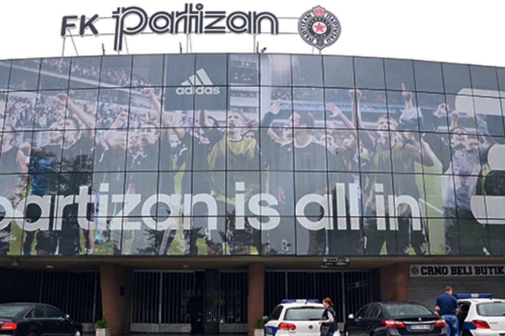 Partizan, pljačka, obijanje, stadion Partizana,