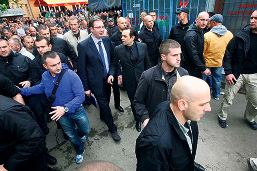 Marko Jakšić, Aleksandar Vučić, zaseda, kamion, Kosovo i Metohija, BIA