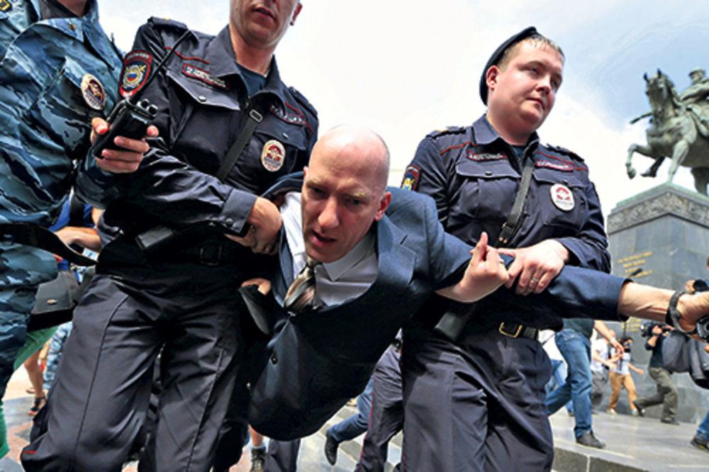 NIŠTA OD PARADE: Uhapšeno 43 ljudi na gej skupovima!