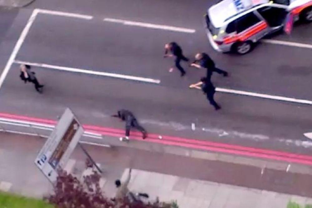 Policija u akciji: Obračun sa ubicama vojnika u Londonu