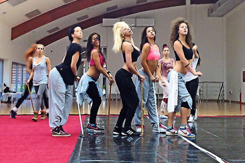 Izazovna koreografija