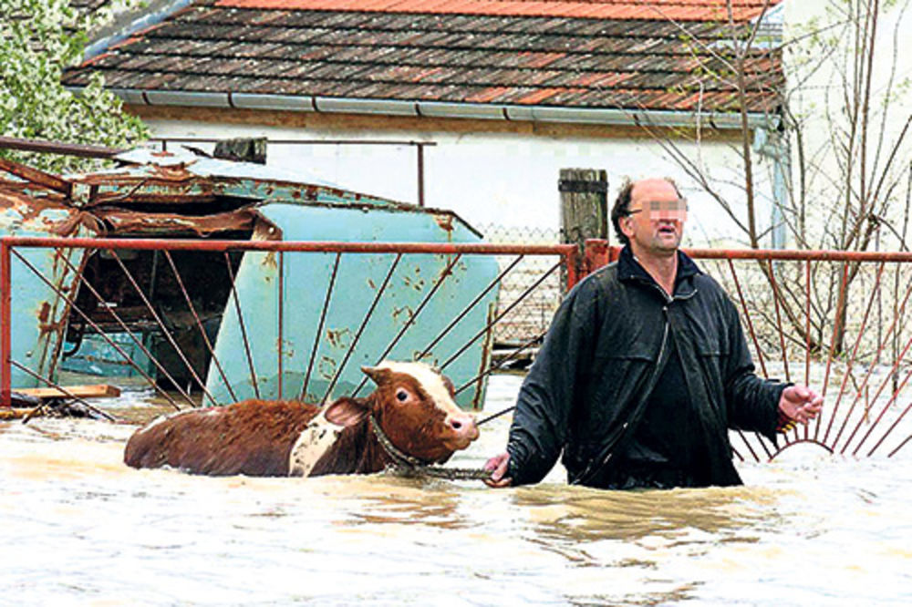 Srbija, Dunav, poplave