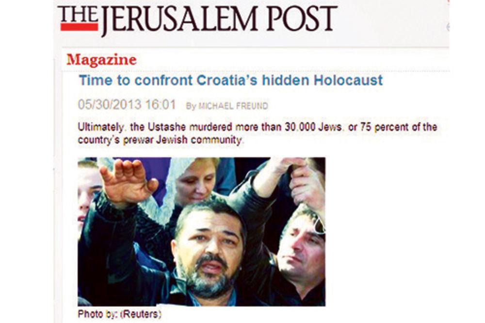 Džeruzalim post, Jevreji, Srbi, Hrvati, genocid, Jasenovac