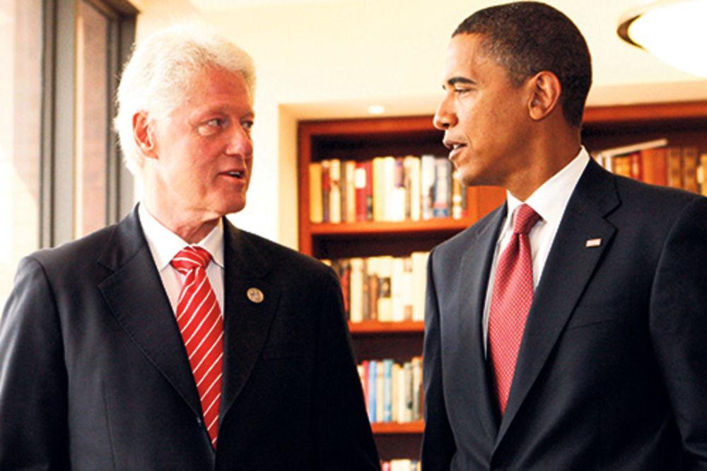 Bil Klinton, Barak Obama,