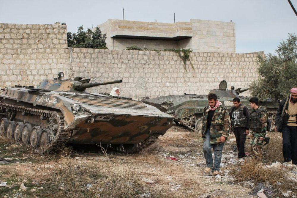 Sirija, Alep, borbe, foto AP