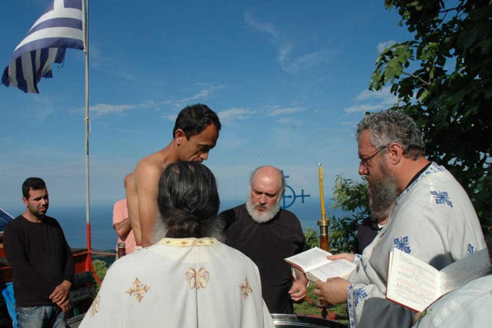 Ahmed postao Aleksandar: Krštenje na Svetoj Gori