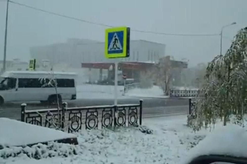 rusija , sneg