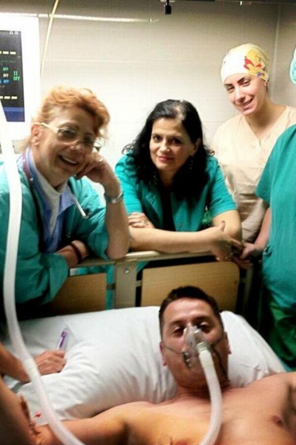 Vlado Georgiev u bolnici: Pukla mu plućna maramica?!