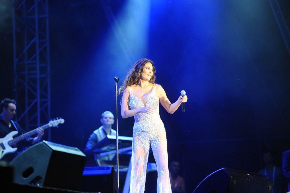 Ceca Ražnatović - koncert na Ušću