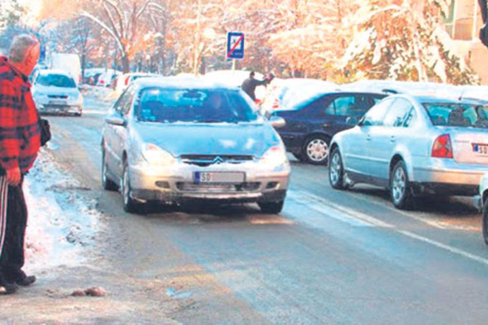 Mesto zločina... Ulica u kojoj je Čolić automobilom udario dečaka