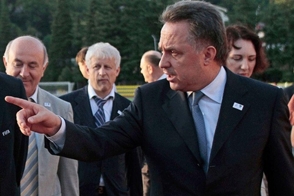 RUSKI MINISTAR SPORTA: Rusija neće igrati sa Kosovom!