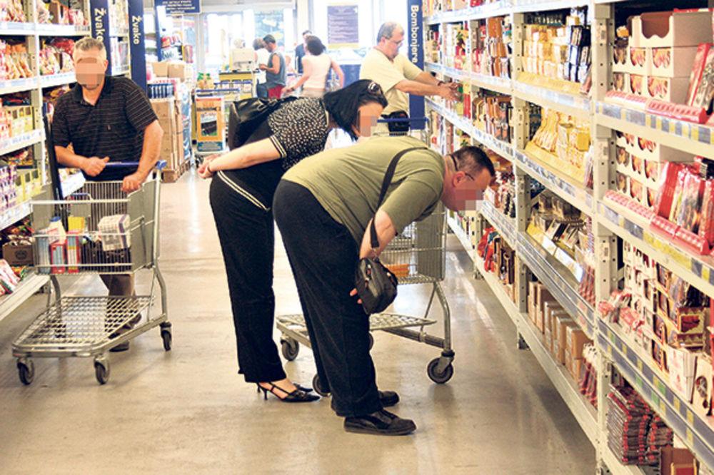 JAD I BEDA: Pročitajte zašto se u srpskim supermarketima najviše krade krajem meseca