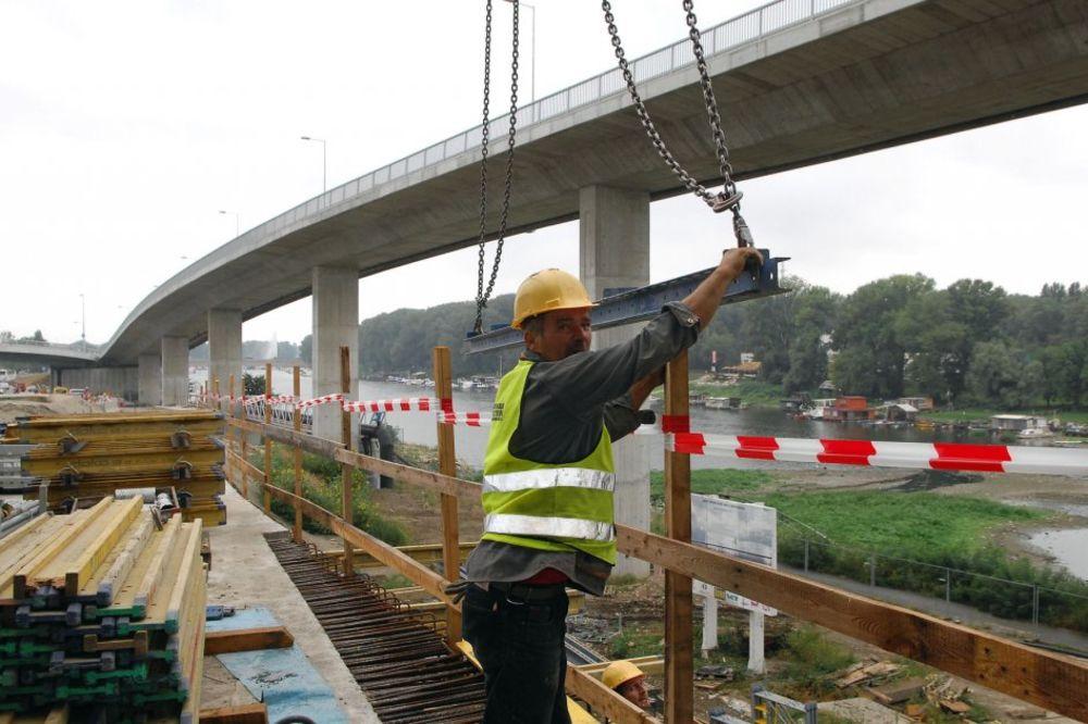IZGRADNJA SEVERNIH PRISTUPNIH SAOBRAĆAJNICA: Počinju radovi na Mostu na Adi