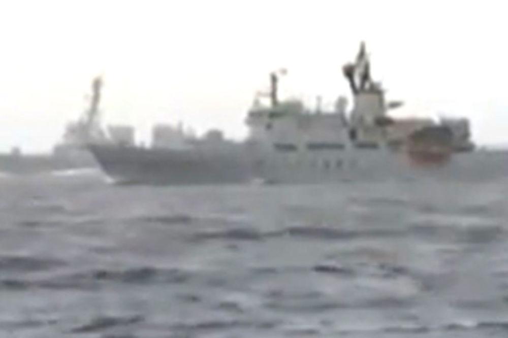 ONI SE NE ŠALE: Ruski ratni brodovi presreli finske istraživače na Baltiku