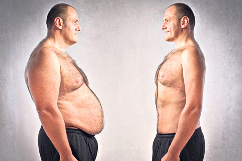 ugojio se, debeo, mršav, smršati, ilustracija, debljina