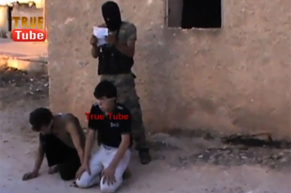 Streljanje dečaka u Siriji